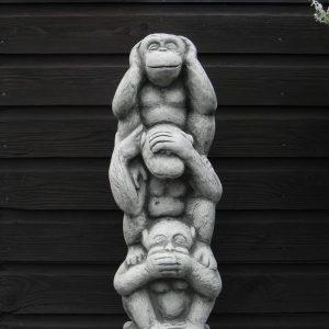 Horen zien zwijgen aap 1